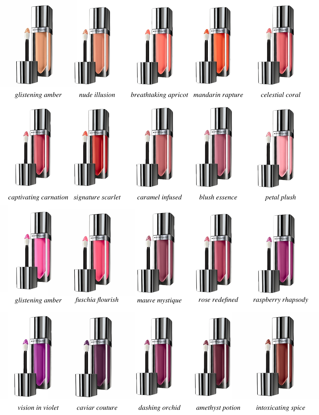 Maybelline Color Elixirs In Blush Essence And Signature