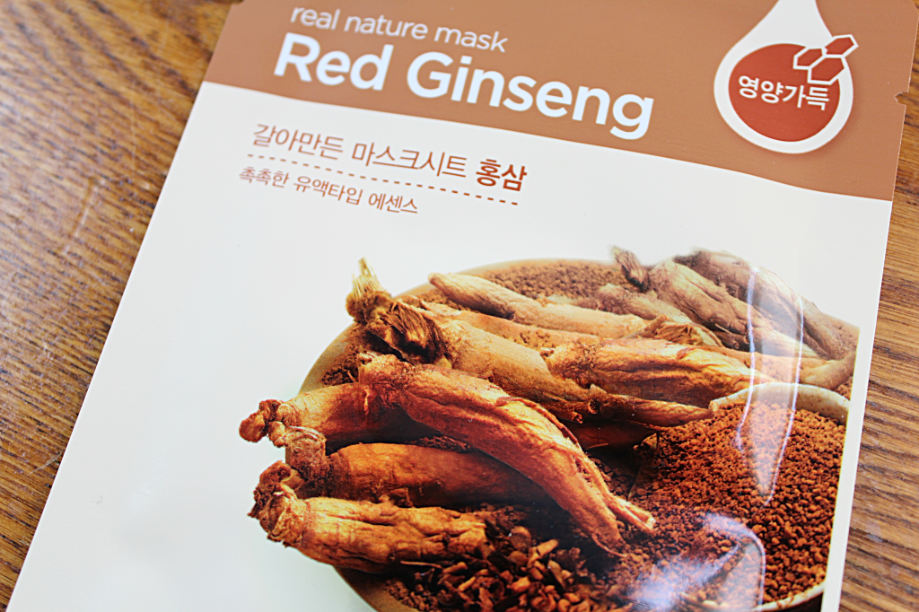 The Face Shop Real Nature Red Ginseng Sheet Mask