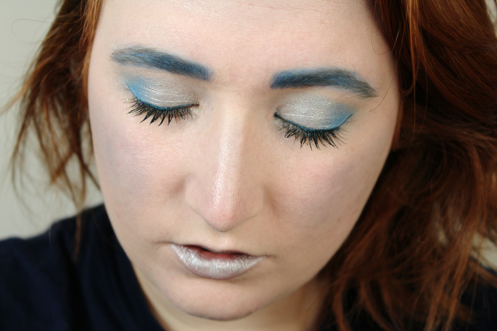 blue makeup look canadian beauty bloggers