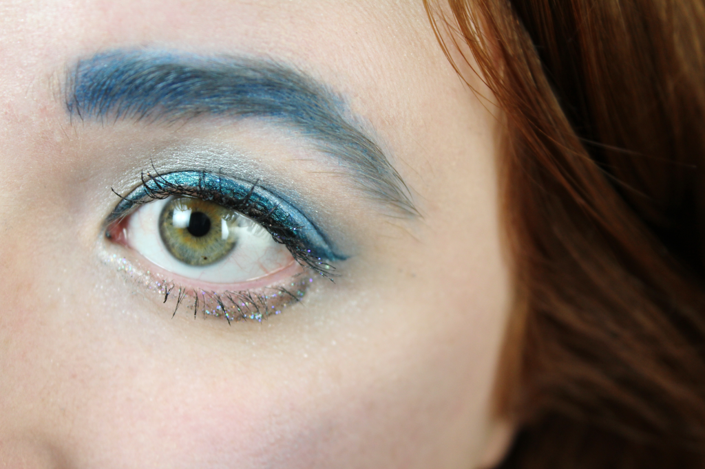 blue makeup look macro canadian beauty bloggers