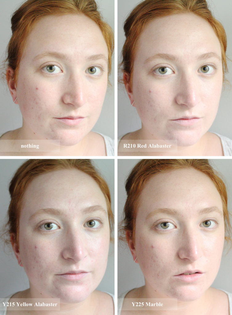 how to make foundation yellow